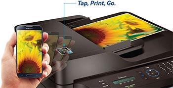 Samsung Tap and Print